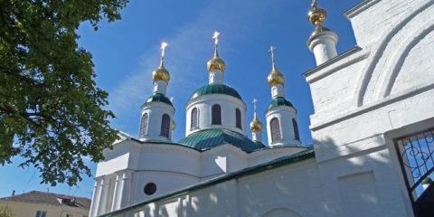 Углич: Богоявленский монастырь