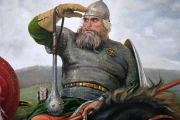 Илья Муромец из Мурома. Былины про русских богатырей