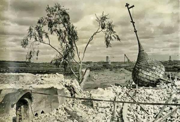 Затопленный город Молога