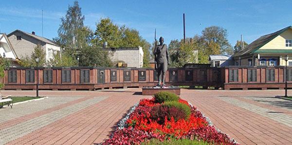 Вечный Огонь и Мемориал Победы, достопримечательности Мышкина