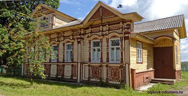 Дом Смирновых, достопримечательности Мышкина