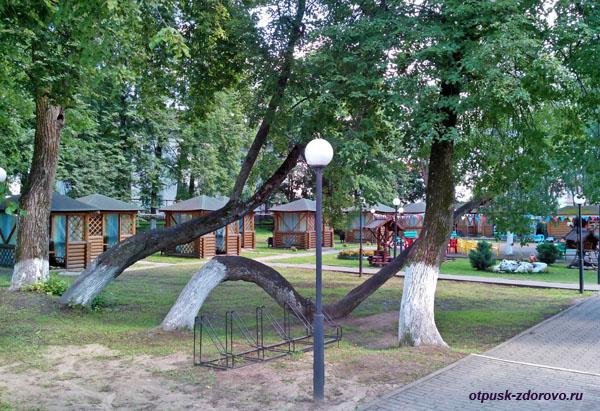 Городской парк Сицкий, достопримечательности Мышкина