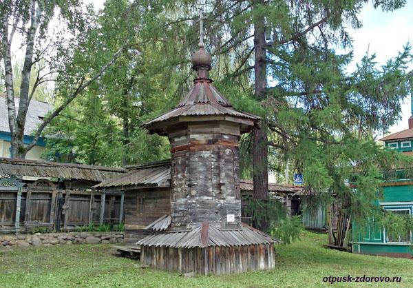 Часовня с реки Сить, Музей деревянного зодчества, Мышкин