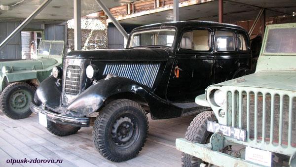 ГАЗ-М1 ЭМКА, Музей ретро-техники Мышкинский Самоходъ, Мышкин