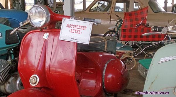 Мотороллер Вятка, Музей ретро-техники Мышкинский Самоходъ, Мышкин