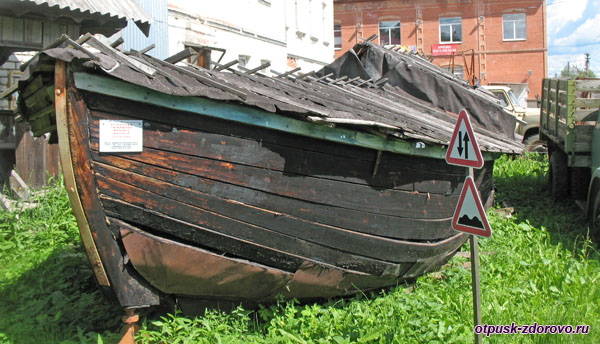 Рыбацкая фелюга, Музей ретро-техники Мышкинский Самоходъ, Мышкин