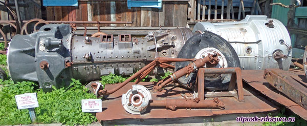 Турбина от самолёта, Музей ретро-техники Мышкинский Самоходъ, Мышкин