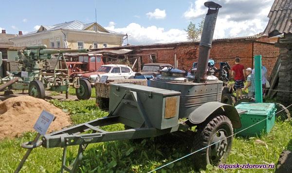 Полевая кухня, Музей ретро-техники Мышкинский Самоходъ, Мышкин
