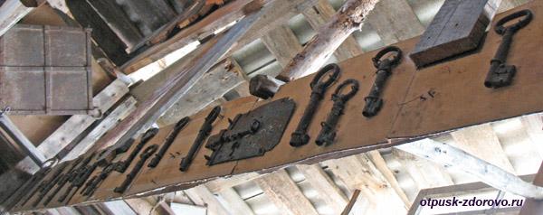 Старинные ключи, Мышкинский народный музей, Мышкин