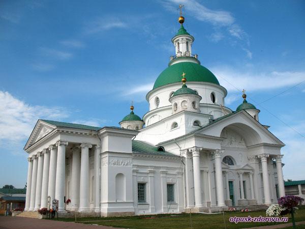 Храм Димитрия Ростовского, Спасо-Яковлевский монастырь, Ростов Великий