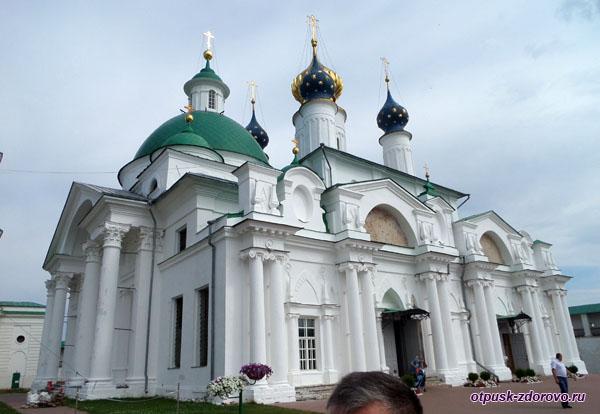 Храм свт Иакова Ростовского и Зачатьевский собор, Спасо-Яковлевский монастырь, Ростов Великий