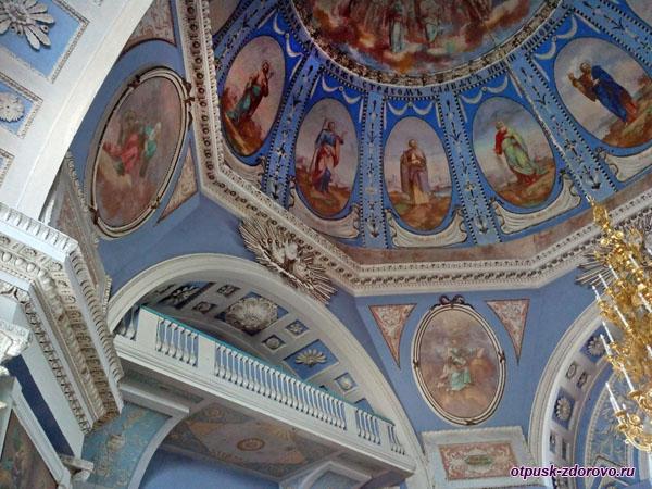 Росписи Зачатьевского собора, Спасо-Яковлевский монастырь, Ростов Великий