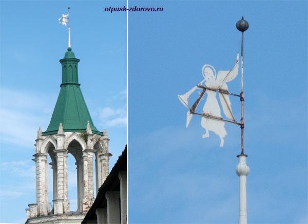 Смотровые башни и флюгер, Спасо-Яковлевский монастырь, Ростов Великий