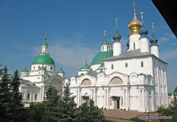 Зачатьевский собор, Спасо-Яковлевский монастырь, Ростов Великий
