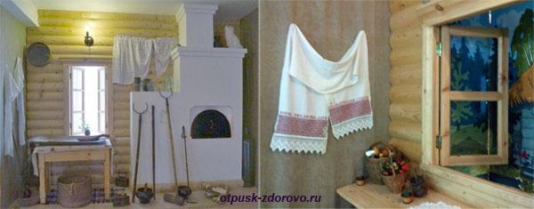 Русская изба, печь, Музей Царевны-Лягушки в Ростове Великом
