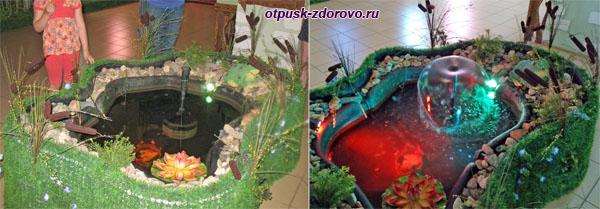 Фонтан в музее Царевны-Лягушки в Ростове Великом