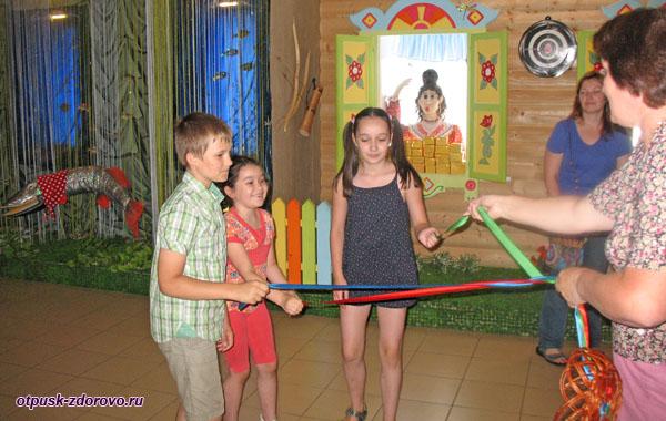 Интерактивные игры в музее Царевны-Лягушки в Ростове
