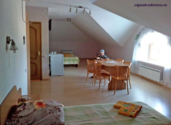 Номер в гостинице Царевна-Лягушка в Ростове Великом
