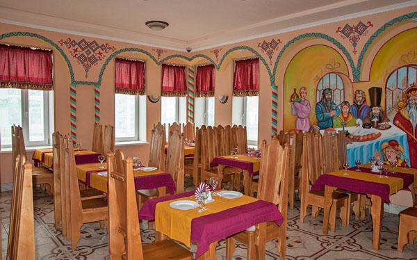 Ресторан в гостинице Иван-Царевич в Ростове Великом