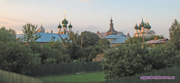 Музей-Заповедник Ростовский Кремль на закате