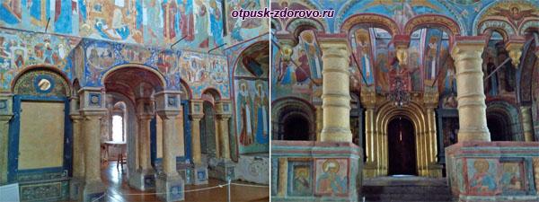 Внутри церкви Спаса Нерукотворного, Ростовский Кремль