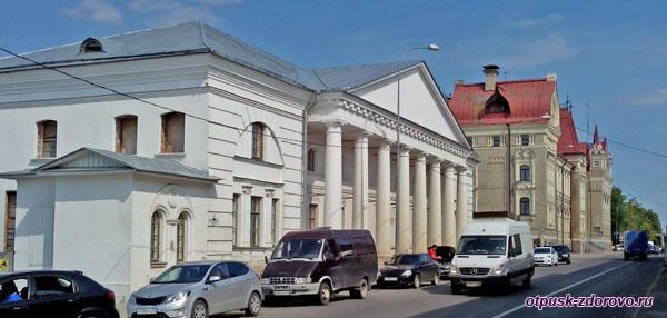Старая хлебная биржа, город Рыбинск