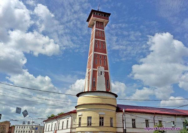 Пожарная Каланча, достопримечательности Рыбинска