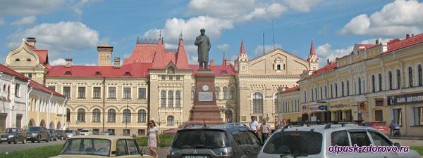 Памятник Ленину в Рыбинске