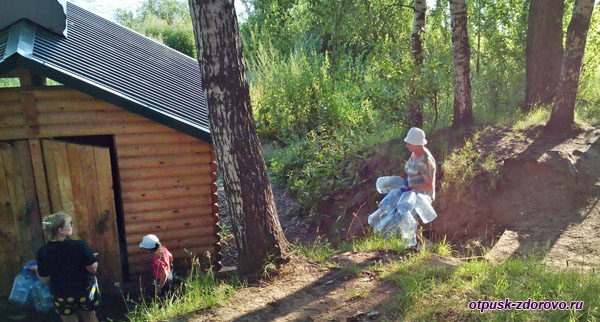 За водой на Святой источник, город Рыбинск