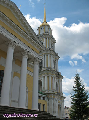 Колокольня Спасо-Преображенского собора, Рыбинск