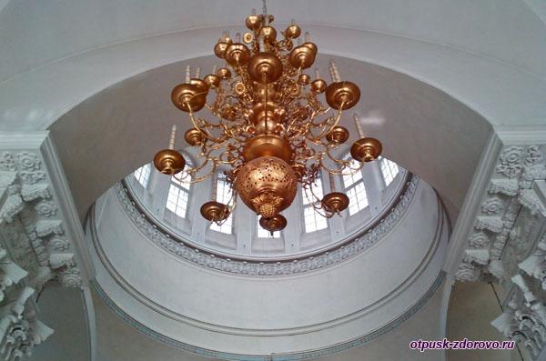 Купол и паникадило Спасо-Преображенского собора, Рыбинск