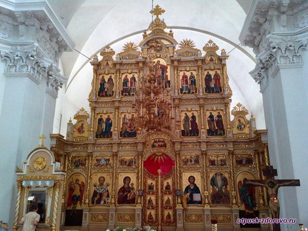 Современный иконостас, Спасо-Преображенский собор, Рыбинск