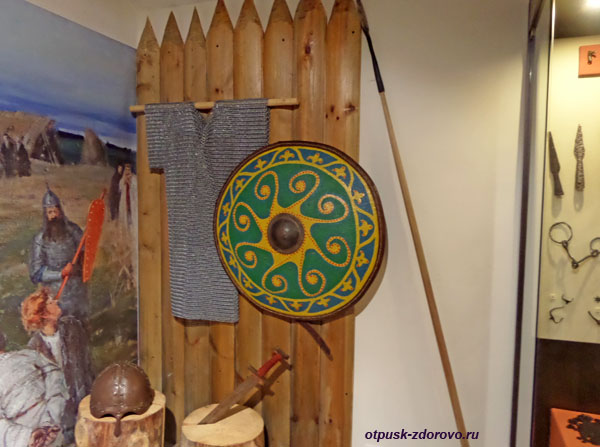 Оружие и доспехи, Рыбинский музей-заповедник