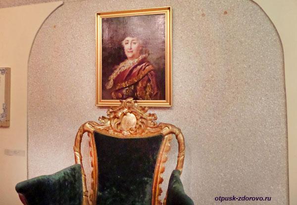 Кресло для Екатерины-2, Рыбинский музей-заповедник