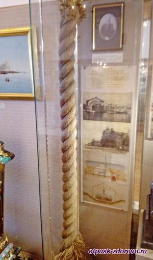 Канатная фабрика и канат в Рыбинском музее