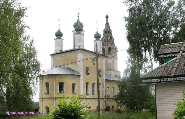 Спасо-Архангельская церковь, Тутаев, Ярославская область