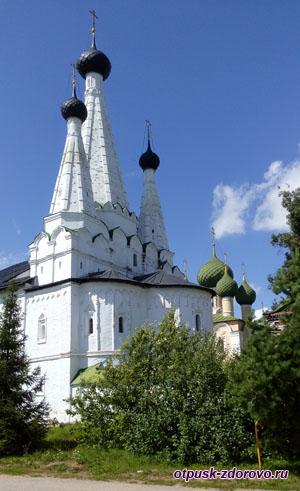 Алексеевский женский монастырь и чудотворная икона, Углич
