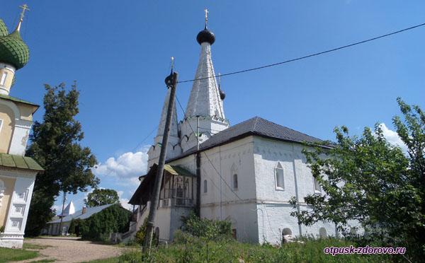 Дивная церковь на территории Алексеевского женского монастыря, Углич