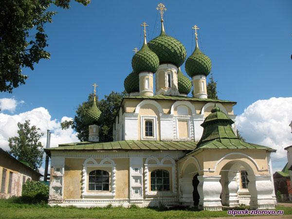 Церковь Иоанна Предтечи Алексеевского монастыря, Углич