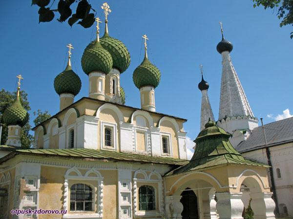 Храмы Алексеевского женского монастыря, Углич