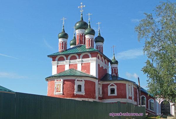 Смоленская церковь в Богоявленском монастыре, Углич