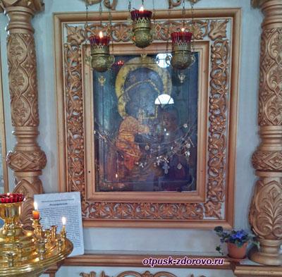 Икона Феодоровской Божьей Матери, Богоявленский монастырь, Углич