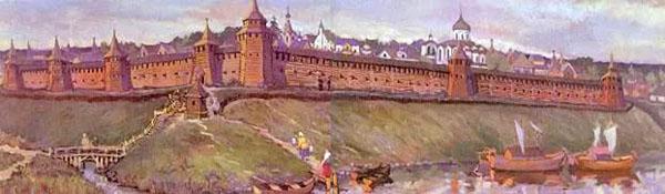 Угличская кремлевская стена