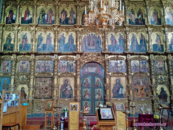Иконостас Спасо-Преображенского собора, Углич