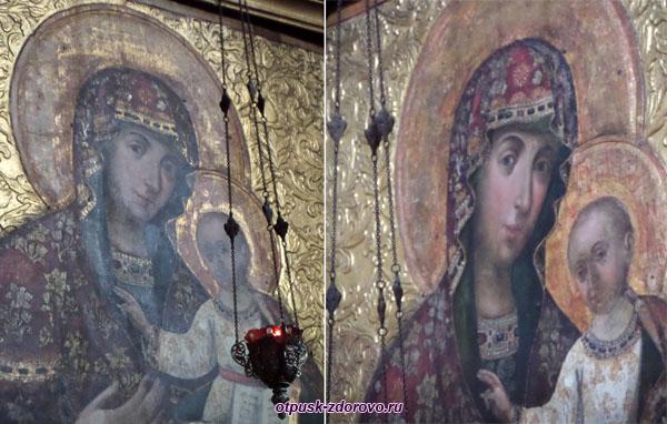 Необычная икона Богородицы, Спасо-Преображенский собор, Углич