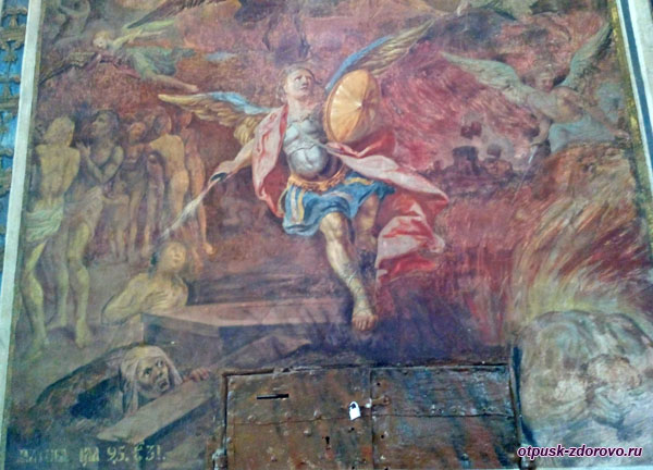 Фрески Спасо-Преображенского собора в Угличе
