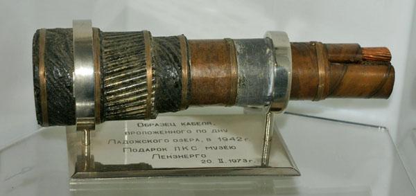 Кабель жизни или кабель с денежкой, Музей истории Петербурга