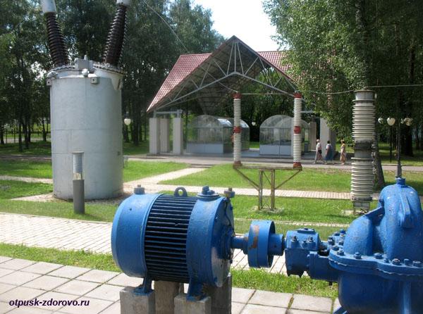 Водяной насосный агрегат, Музей гидроэнергетики, Углич