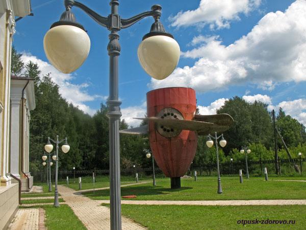 Экспозиция на улице, Музей гидроэнергетики, Углич