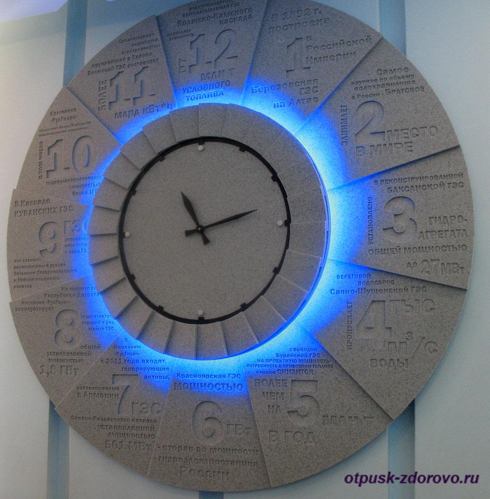 Необычные часы, Музей гидроэнергетики, Углич